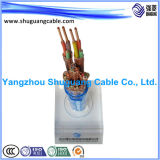 Cu Tape Fully Screened/XLPE Insulated/PVC Sheathed/Stranded/Instrument Cable