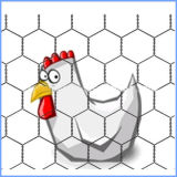 Low Carbon Steel Wire Hex Fencing Wire Mesh
