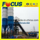 Hzs60 60cbm/H Stationary Concrete Mixing Plant with Belt Conveyor