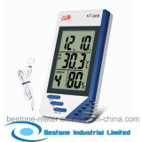 Hygro-Thermometer Clock & Calendar with Indoor and Outdoor Temperature (KT908)