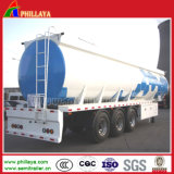 3 Axle 30-55cbm Heavy Crude Oil Fuel Tank Semi Trailer