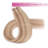 Wholesale Indian Remy Human Hair Custom PU Tape in Hair Extension