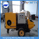 Trailer Concrete Pump/Mortar Driving Fine Stone Concrete Pump Price