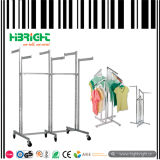 Six Arms Clothes Garment Display Rack Stand
