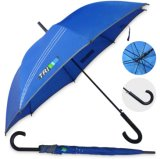 High Quality Wholesale 23 Inch Stick Promotional Rubber Handle Umbrella