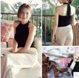 Women Fashion Clothes Sexy Bandage Summer Polyester Ladies Tank Top