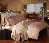 Hotel Bed Linens Factory Soft Natural Professional Bedding (MG-BZ005)