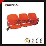 Riser Mount Foldable Plastic Seats for Stadium & Arena, Folding Spectator Chair