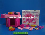 Electrical Battery Operated Musical Oven Plastic Toy (1765238)