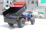 Four Head Lamp Big Rear Storage Farm ATV with Ce