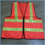 Roadway Warning Reflective Safety Vest for Road Maintenance Workers