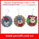 Christmas Decoration (ZY13L170-1-2-3 17CM) Christmas Fabric Decoration Garland