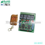 4 Channel Transmitter and Receiver, 4 Relay Remote Controller (GD-RF015)