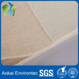 Industrial Non Woven Fabric Dust Bag Filters Nomex / Aramid / Metamax