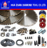 Sharp Diamond Cutting Blade of Incline Segment Design (Hz3286)