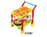 Flastic Educcational Toy Food Set with Car (212387)