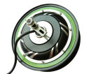Electric Bike Fat Tyre Rear Spoke Hub Motor 48V 500W / Brushless DC Hub Motor