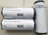 Recyclable HDPE LDPE Interleaved Drawstring Bag on a Roll