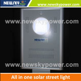 Parking Lot Integrated Solar Powered LED Lamps