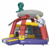 Alien Inflatable Jumping Bouncer