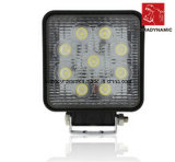 LED Car Light of LED Worklight Epistar Round Waterproof IP68 27W for SUV Car LED off Road Light and LED Driving Light