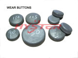 Bimetallic ASTM A532 Chrome Cast Wear Buttons