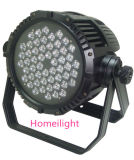 54PCS X3w High Power PAR Lamp Waterproof PAR Light for Stage, Party