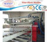 Plastic PP PE Single Wall Corrugated Pipe Machine / Extrusion Line