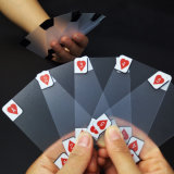 Transparent PVC/Plastic Playing Cards with Transparent Box