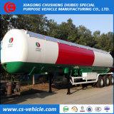 Tri-Axle 50m3 LPG Transport Semi-Trailer 50000L LPG Tanker Trailer
