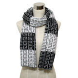 Men′s Fashion Pashmina Acrylic Knitted Winter Scarf (YKY4358)