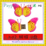 8GB Butterfly Shape USB Flash Drive (GC-B055)