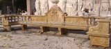 Hand Carved Marble Benches for Home and Garden