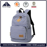 College Canvas Laptop School Bag Student Backpack Bag