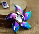 High Quality Fidget Finger Spinner with Metal Box Packing (WY-HS09)