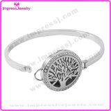 Tree of Life Atmosphere Diffuser Perfume Locket Bracelet