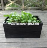 Fo-283 Rectangular Fiberglass Flower Pot