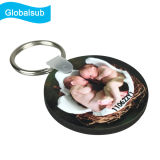 MDF Sublimation Souvenir Keychain for Kids Round Shape