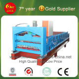 Metal Steel Tile Roof / Wall Panel Roll Forming Machine
