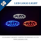 Car 5D LED Logo Badge Light for KIA
