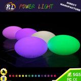 Lighting up Stone Ball LED Oval Lights