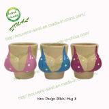 Ceramic Bikini Hand Painted Cup, Shot Glass, Mug