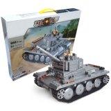 14882009-Building Block Century Military Pzkpfw-II Tank Heer