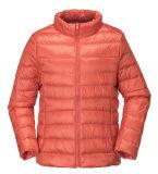 Waterproof Nylon Winter Woman Down Jacket