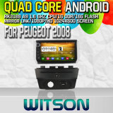 Witson S160 for Peugeot 2008 Car DVD GPS Player with Rk3188 Quad Core HD 1024X600 Screen 16GB Flash 1080P WiFi 3G Front DVR DVB-T Mirror-Link Pip (W2-M374)