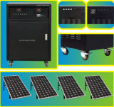 Solar Power System with 250W/36V*4PCS Solar Panel and 12V/100ah*4PCS Battery
