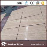 Beige Travertine Marble Tile for Wall Cladding and Flooring Tile