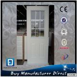 Fangda Brief Style Exterior Steel 9 Lite Glass Door
