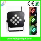 9 X10W Rechargeable LED PAR Light Wireless
