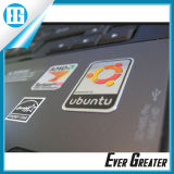 Aluminum Brushed Metal Sticker with Strong Adhesive Backside